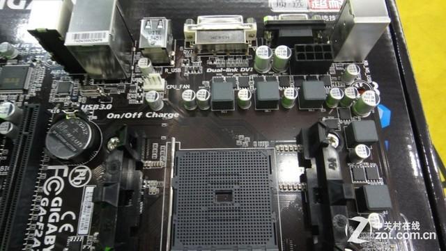 支持全新APU 技嘉F2A78M-DS2只需499元